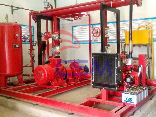 Proyek Paket Pompa Hydrant SAMSAT Bulak Kapal